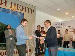 Победитель этапа Рапид Гран-При России